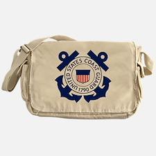 USCG-Logo-2-Blue.gi... Messenger Bag