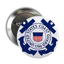 "USCG-Logo-2-Blue.gi... 2.25"" Button"