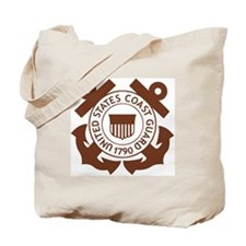 USCG-Logo-2-Brown.g... Tote Bag