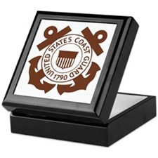 USCG-Logo-2-Brown.g... Keepsake Box