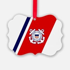 USCG-Racing-Stripe-... Ornament