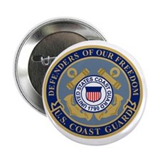 """USCG-Defenders-Of-F... 2.25"""" Button"""