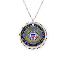 USCG-Defenders-Of-F... Necklace Circle Charm