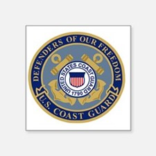USCG-Defenders-Of-F... Square Sticker 3