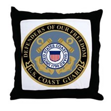 USCG-Defenders-Of-F... Throw Pillow