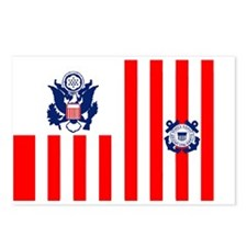 USCG-Sticker.gif Postcards (Package of 8)