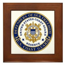 USCGR-Defenders-Shirt-XX.gif Framed Tile
