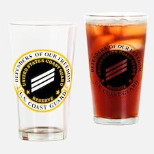 USCGR-SN-Black-Shirt Drinking Glass