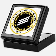 USCGR-SN-Black-Shirt Keepsake Box