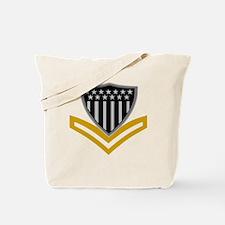 USCG-PO2-Black-Shirt-2 Tote Bag