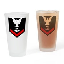 USCG-AST3-Black-Shirt Drinking Glass