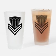 USCG-PO1-Pin-Subdued-X.gif Drinking Glass