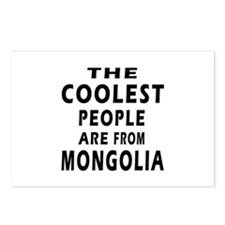 The Coolest Mongolia Designs Postcards (Package of