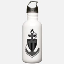 USCG-SCPO-Pin-Subdued- Water Bottle