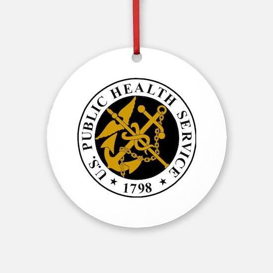 USPHS-Logo-For-Stripes.gif Round Ornament