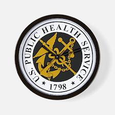 USPHS-Logo-For-Stripes.gif Wall Clock