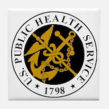 USPHS-Logo-For-Stripes.gif Tile Coaster