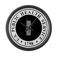 USPHS-LTJG-Cap-Khaki.gif Large Wall Clock