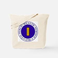 USPHS-Ens-Cap-White.gif Tote Bag