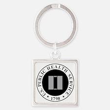 USPHS-LT-Khaki-Cap.gif Square Keychain