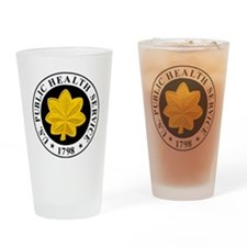 USPHS-LCDR-Cap.gif Drinking Glass