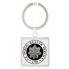 USPHS-CDR-Cap.gif Square Keychain