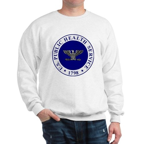 USPHS-CAPT-White-Cap.gif Sweatshirt