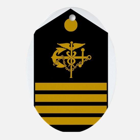 USPHS-CAPT-Board.gif Oval Ornament