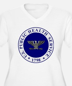 USPHS-CAPT-White- T-Shirt