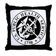 USPHS-Messenger-X.gif Throw Pillow