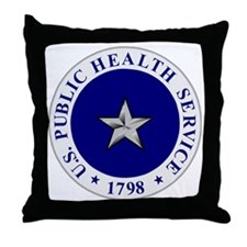 USPHS-RADM-1.gif Throw Pillow