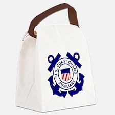 USCGAux-Logo-Bonnie.gif Canvas Lunch Bag