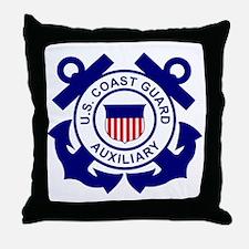USCGAux-Logo-Bonnie.gif Throw Pillow