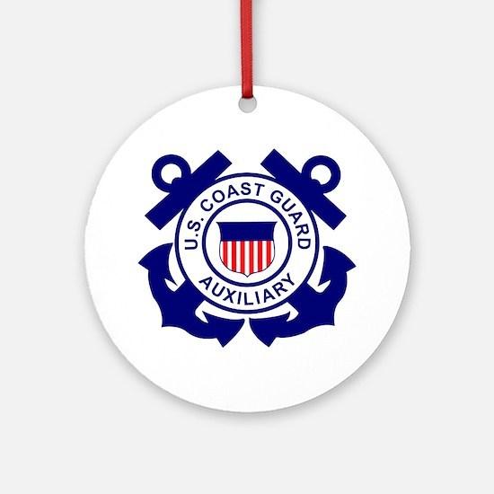 USCGAux-Logo-Bonnie.gif Round Ornament