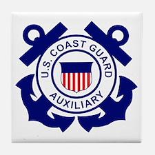 USCGAux-Logo-Bonnie.gif Tile Coaster