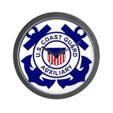 USCGAux-Logo-Bonnie.gif Wall Clock
