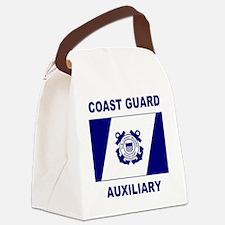 USCGAux-Flag-Shirt-2.gif Canvas Lunch Bag