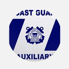 USCGAux-Flag-Shirt-1.gif Round Ornament