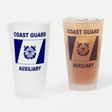 USCGAux-Flag-Shirt-2.gif Drinking Glass