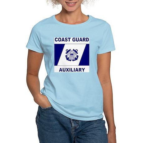 USCGAux-Flag-Shirt-2.gif Women's Light T-Shirt