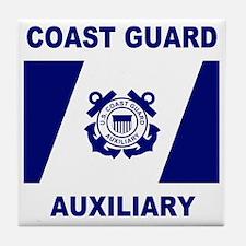 USCGAux-Flag-Shirt-1.gif Tile Coaster