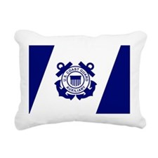 USCGAux-Flag-Bonnie.gif Rectangular Canvas Pillow