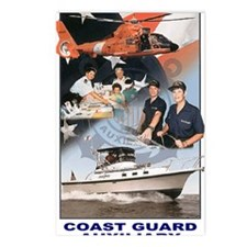 USCGAux-Journal.gif Postcards (Package of 8)