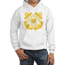 USCGAux-Black-Shirt Hoodie