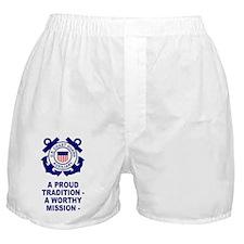 USCGAux-Sticker.gif Boxer Shorts