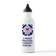 USCGAux-Sticker.gif Sports Water Bottle
