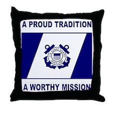 USCGAux-Pride-Shirt.gif Throw Pillow