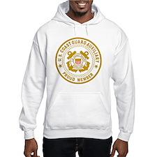 USCGAux-Black-Shirt-2 Hoodie