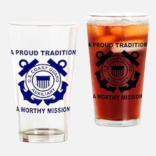 USCGAux-Pride-Shirt-3.gif Drinking Glass