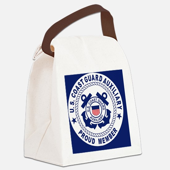 USCGAux-Pride-Button.gif Canvas Lunch Bag